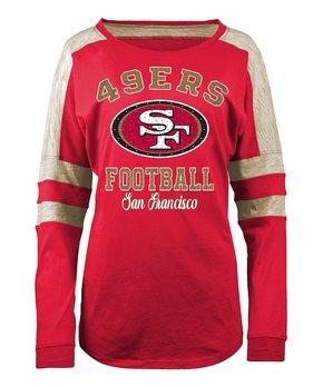 San Francisco 49ers Space-Dye Long-Sleeve Tee - Women