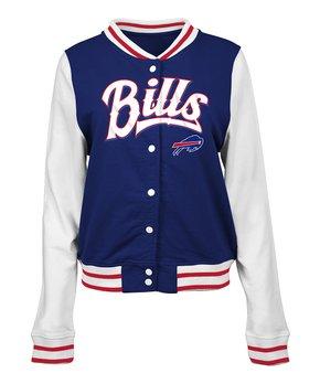 Buffalo Bills French Terry Varsity Jacket - Women