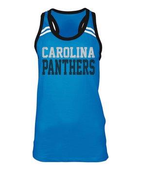 Carolina Panthers Space-Dye Pullover - Women