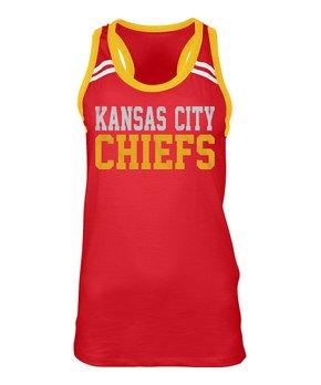 Kansas City Chiefs Athletic Tank - Women