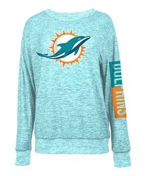 Miami Dolphins Space-Dye Pullover - Women