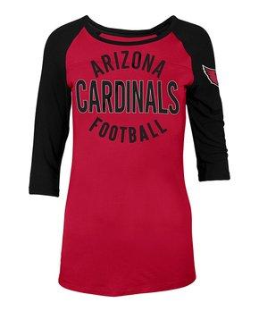 Arizona Cardinals Raglan Tee - Women