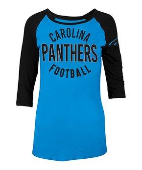 Carolina Panthers  Raglan Tee - Women