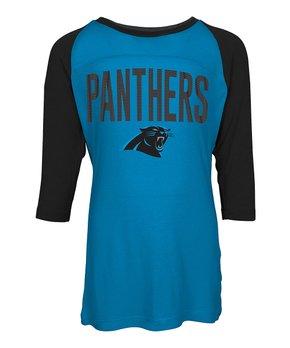 Carolina Panthers Raglan Tee - Kids