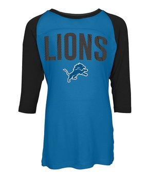 Detroit Lions Raglan Tee - Kids
