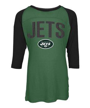 New York Jets Raglan Tee - Kids