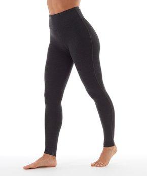 4f90b3cf8d6633 Marika | Heather Charcoal High-Rise Tummy-Control Leggings - Women