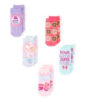 3a6a59cef ... Four-Pair Socks Set - Kids. all gone. JoJo Siwa Pink ...