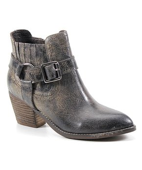 e2eb9e7043 Diba True | Charcoal Mud Play Leather Ankle Boot - Women