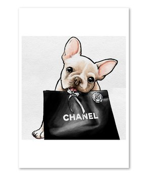 Oliver Gal | Bubbly Personality Chihuahua Print