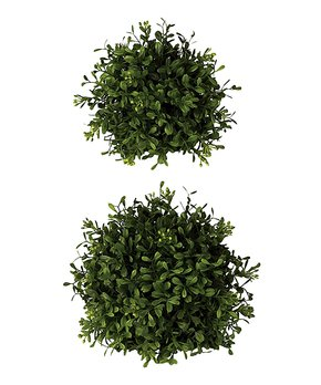 Sullivans Décor | Boxwood Orb - Set of Two