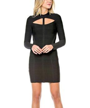 b861c8e0dd25 Sara Boo   Black Peplum Dress - Women. all gone
