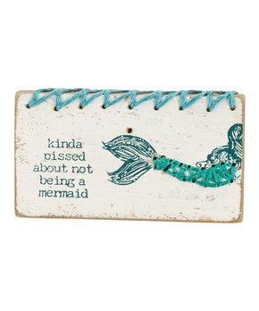 Primitives by Kathy | 'be.YOU.tiful' Stitched Wood Magnet