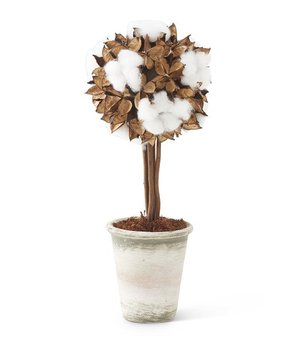 Midwest-CBK | White Reactive Glaze Lotus Table Lamp