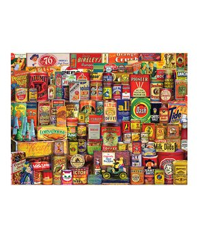 White Mountain Puzzles | All Aboard 1,000-Piece Puzzle