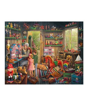 White Mountain Puzzles | The Toy Shed 1,000-Piece Puzzle