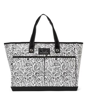 SCOUT Bags | Black Swan Paisley The BJ Tote