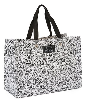 SCOUT Bags | Black Swan Paisley X-Large Resuable Gift Bag