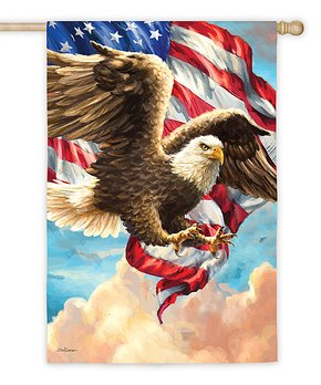 Evergreen | Eagle Stars & Stripes Outdoor Flag