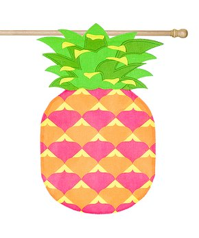 Evergreen | Pineapple Outdoor Flag