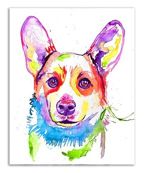 Jenn Seeley Art | Corgi Watercolor Print