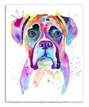 Jenn Seeley Art | Boxer Watercolor Print