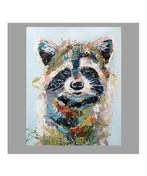 Jenn Seeley Art | Woodland Racoon Print