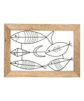 Midwest-CBK | School of Fish Wall Art