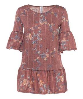 Be Girl Clothing | Indigo Wash Embroidered Pocket Calf-Length Denim Skirt - Women & Plus