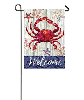 Evergreen | 'Welcome' Birds Outdoor Flag