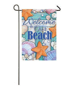 Evergreen | Star & Horseshoe 'Welcome' Outdoor Flag