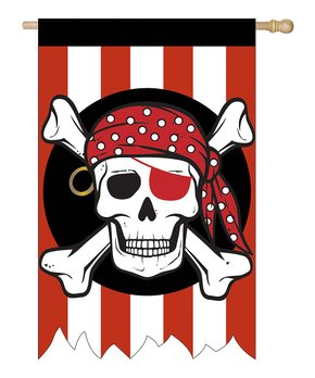 Evergreen | Pirate Outdoor Flag