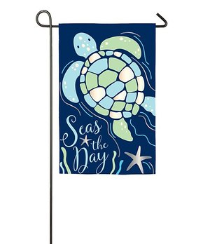 Evergreen | Watering Can 'Welcome' Outdoor Flag
