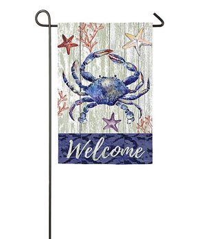 Evergreen | 'Welcome Friends' Hummingbird Outdoor Flag