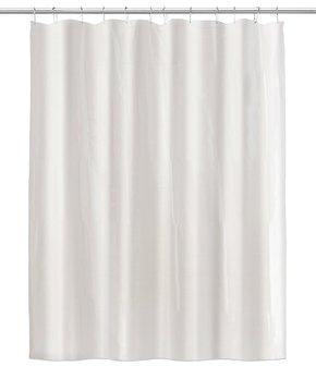 Splash Home | Clear 4-Gauge Shower Curtain Liner