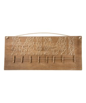 Primitives by Kathy | 'Never Stop' String Art Box Sign