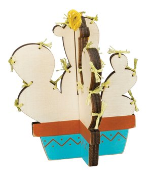 Primitives by Kathy | 'Gentle Spirit' String Art Block Sign