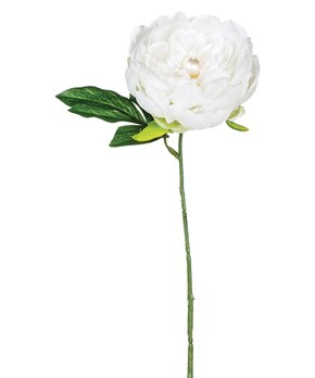 Sullivans Décor | White Peony Stem - Set of Two