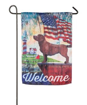 Evergreen | 'Welcome' Palms Outdoor Flag