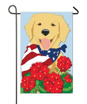 Evergreen | Stars & Stripes Dog Outdoor Flag