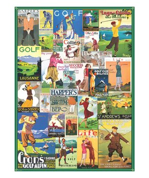 Eurographics | Golf Around the World 1,000-Piece Puzzle
