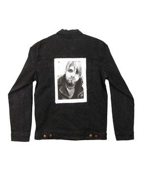 Kurt Cobain Blue Photo Patch Denim Jacket – Men