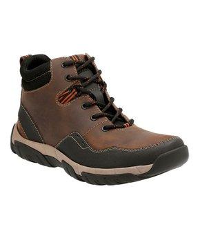 Brown Walbeck Top Waterproof Leather Boot - Men