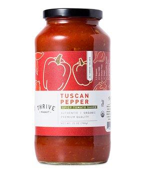 Thrive Market   25-Oz. Organic Tuscan Pepper Pasta Sauce