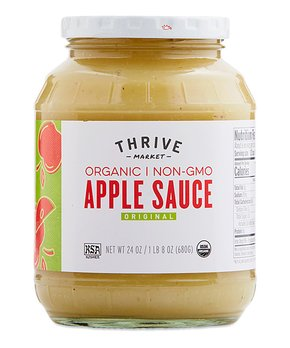 Thrive Market | 24-Oz. Organic Apple Sauce