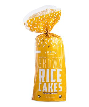 Thrive Market | 4.9-Oz. Lightly Salted Organic Whole Grain Rice Cakes