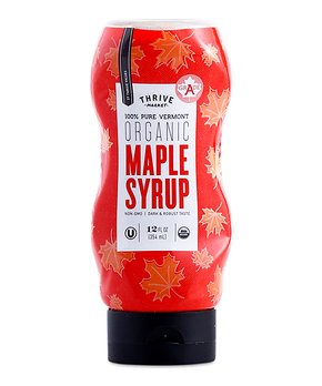 Thrive Market | 12-Oz. Organic Grade A Maple Syrup Squeeze Bottle