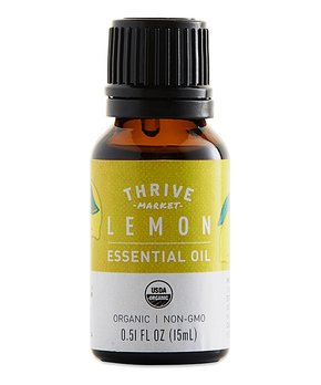 Thrive Market | 0.5-Oz. Organic Lemon Essential Oil