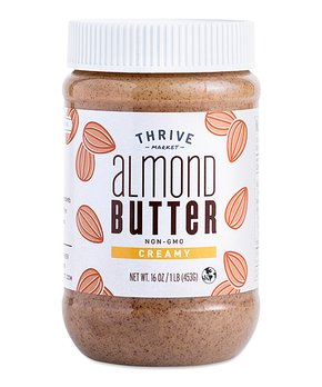Thrive Market | 16-Oz. Non-GMO Creamy Almond Butter
