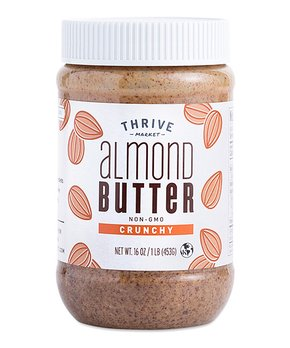 Thrive Market | 16-Oz. Non-GMO Crunchy Almond Butter